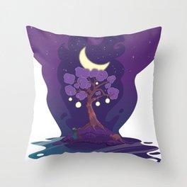 Stellar Chronos Throw Pillow