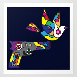 Peaceful Wars Art Print