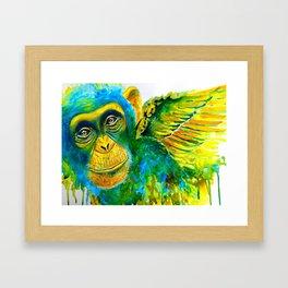 Fly My Pretty Framed Art Print