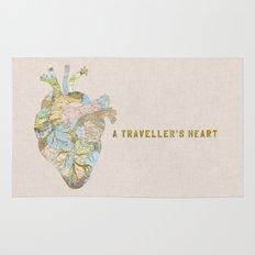 A Traveller's Heart (UK) Rug