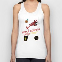 cowboy bebop Tank Tops featuring NES Cowboy Bebop by IF ONLY