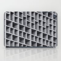 grid iPad Cases featuring Grid by Cameron Booth