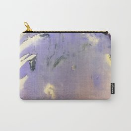 Purple Abstraction Carry-All Pouch