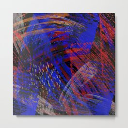 Abstract blue background Metal Print