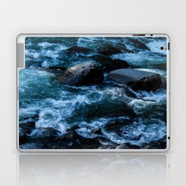 Like Stones Under Rushing Water Laptop & iPad Skin