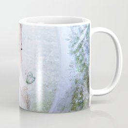 Dream of gentleness - princess in royal garden Coffee Mug