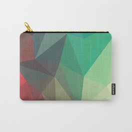 Geometric Low Polly Design Carry-All Pouch