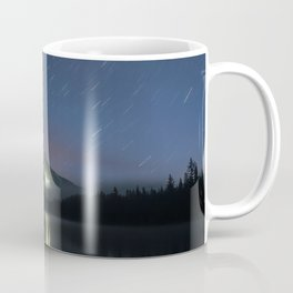 Lights on Mount Hood Coffee Mug