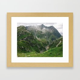 Mighty Mountains of Switzerland Framed Art Print