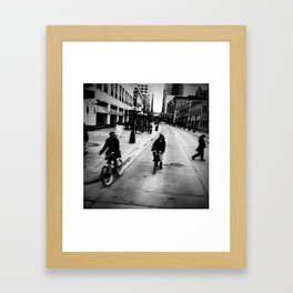 Street Rhythm Framed Art Print