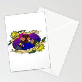 Less Queerbaiting - More Queer Dating!  Stationery Cards