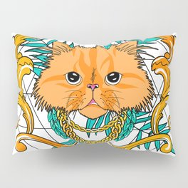 Chichi, the cat Pillow Sham