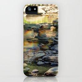 Zen Rainbow Rocks iPhone Case