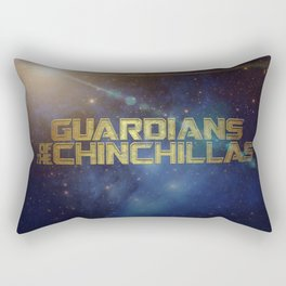 Guardians of the Chinchillas Rectangular Pillow