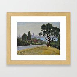 Magnolia Boulevard Framed Art Print