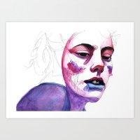 (e)motion 02 Art Print