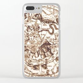Unknown Celestial Map of the Southern Hemisphere, 17th Century Clear iPhone Case