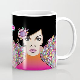 """NYE 2014"" Subway Soul by Dawn Carrington Coffee Mug"