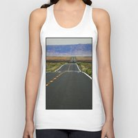 kerouac Tank Tops featuring ON THE ROAD by muffa
