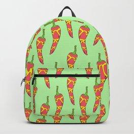 Chilli pepper pattern Backpack