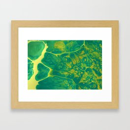Green #4 Framed Art Print