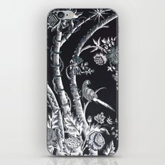 Peacock Tree Denim iPhone Skin
