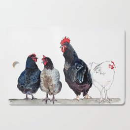 Chicken Squad Cutting Board