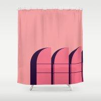 bauhaus Shower Curtains featuring Bauhaus Archiv by bloooom