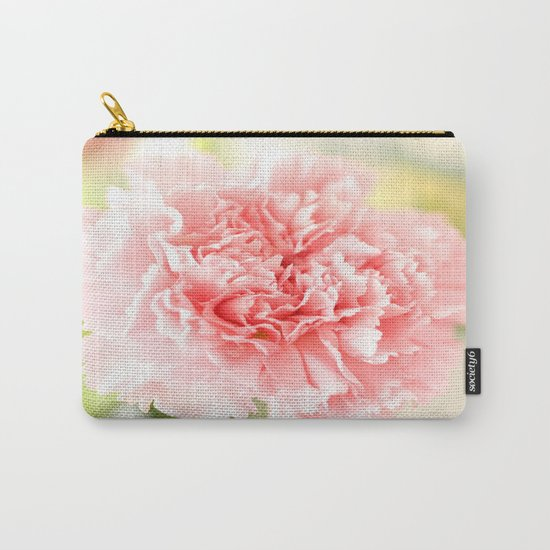 Pink Carnation Admiration  Carry-All Pouch