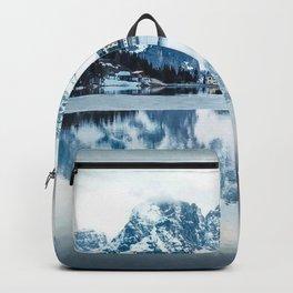 Lake Misurina Italy Backpack
