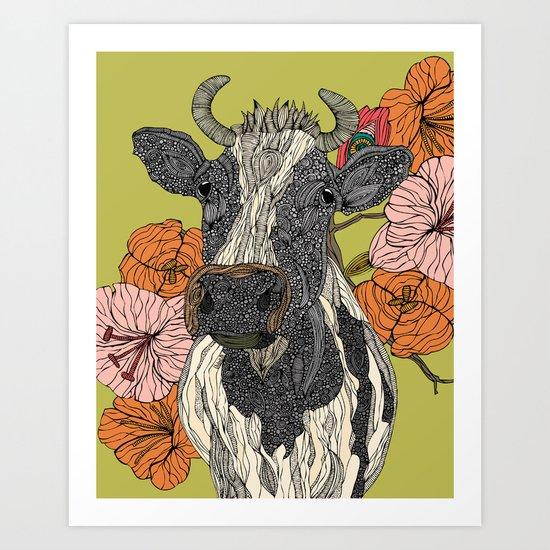 Moo Art Print