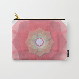 Pink Floral Meditation Carry-All Pouch