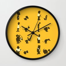 Please Pick Up After Your Pets Wall Clock