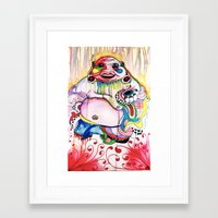 buddah Framed Art Prints featuring Buddah by TomDaly