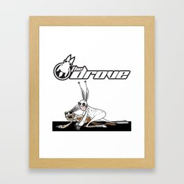 The Downlow Mug Framed Art Print