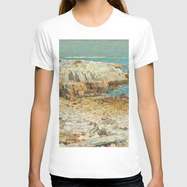 A North East Headland Oil Painting by Childe Hassam T-shirt
