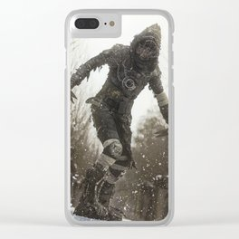 Cold Wasteland Clear iPhone Case