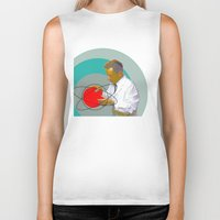 science Biker Tanks featuring Science by Renaissance Youth