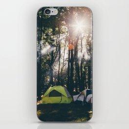 Camp Vibes & Sunshine iPhone Skin