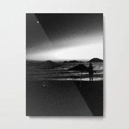 STANDOFF. Metal Print