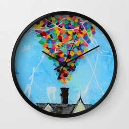Never give ''UP'' Wall Clock