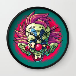 Killer Clown Wall Clock
