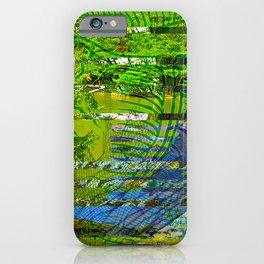 Landscape of My Heart (segment 4) iPhone Case