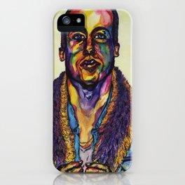 Macklemore Watercolor Portrait iPhone Case
