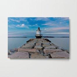 Spring Point Ledge Lighthouse Metal Print