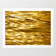 Gold to my beloved Anna Art Print