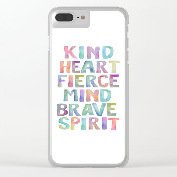 graphic regarding Printable Phone Case identify Type Centre Intense Brain Courageous Spirit Printable Tribal Nursery Quotation Female Tribal Decor Tribal Wreath Crystal clear apple iphone Circumstance as a result of typodesign