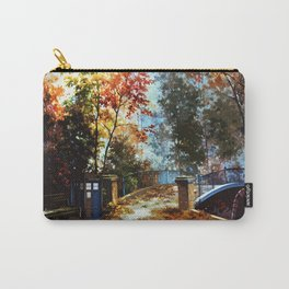 Tardis Art Stand Side The Bridge Carry-All Pouch