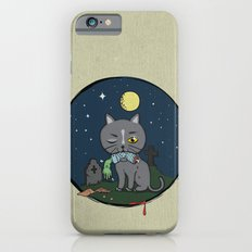 Cats love zombie meat! Slim Case iPhone 6s