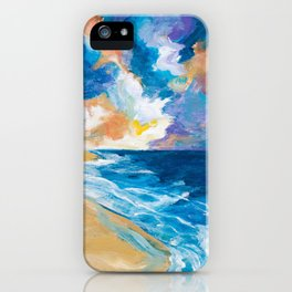 Stormy Sea iPhone Case